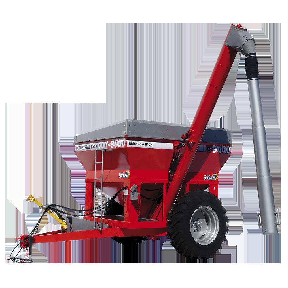 Carreta Agrícola Graneleira GB-9000 Múltipla INOX